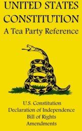 US Constitution Tea Party